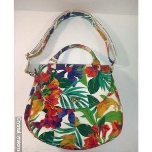 Liz Claiborne floral crossbody purse